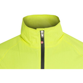 Castelli Emergency Jacket Herre yellow fluo